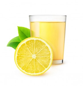 Isolated lemon juice