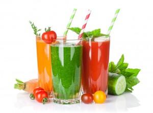 Fresh vegetable smoothie
